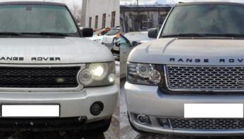 Комплект рестайлинга  Range Rover Vogue 2006 — 2009 в Range Rover Vogue  2012 Autobiography
