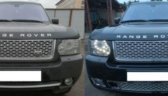 Рестайлинг тюнинг обвес  Range Rover Voque 2010-2012  Autobiography