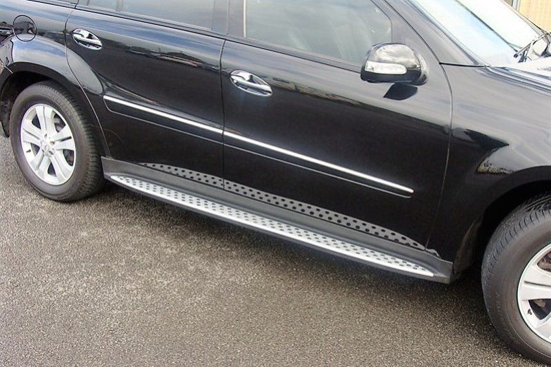 Пороги Mercedes Benz GL 164