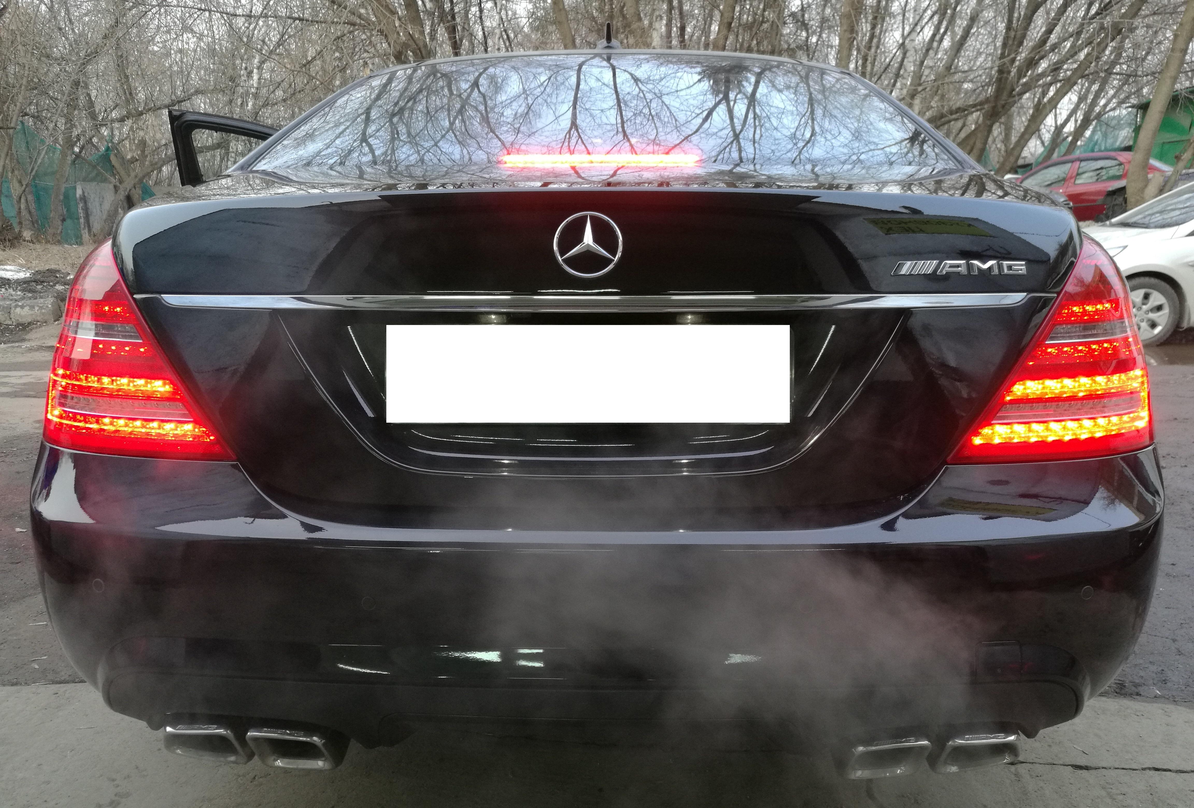 Рестайлинг тюнинг  обвес  Mercedes S-Class W 221 6.3 AMG