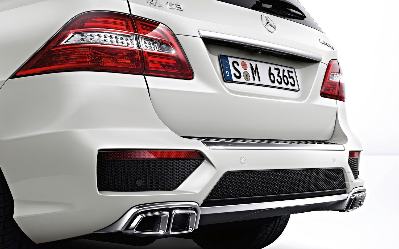 Рестайлинг тюнинг  обвес   Mercedes ML 166 6.3 AMG