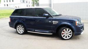 Рестайлинг Range Rover Sport Autobiography 2012 ( серебристая крыша)
