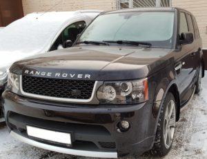 Рестайлинг Range Rover Sport 2011 Autobiography ( керамический лак)
