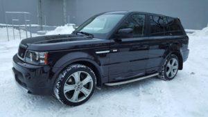 Рестайлинг Range Rover Sport 2012 ( керамический лак )