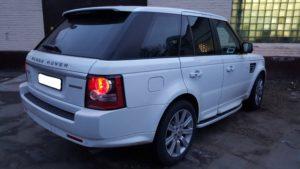 Рестайлинг Range Rover Sport 2012 Autobiography