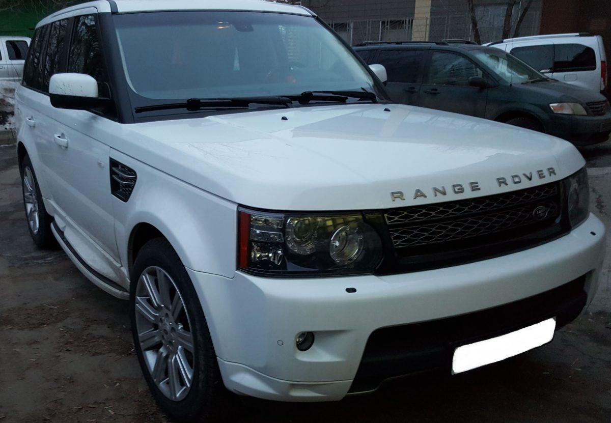 Рестайлинг Range Rover Sport Autobiography 2012