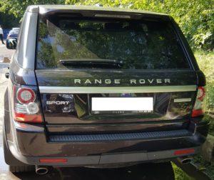 Рестайлинг Range Rover Sport 2011 Autobiography