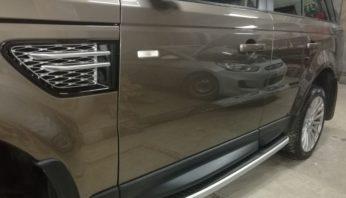 Боковая алюминиевая накладка порога Range Rover Sport 2005-2013
