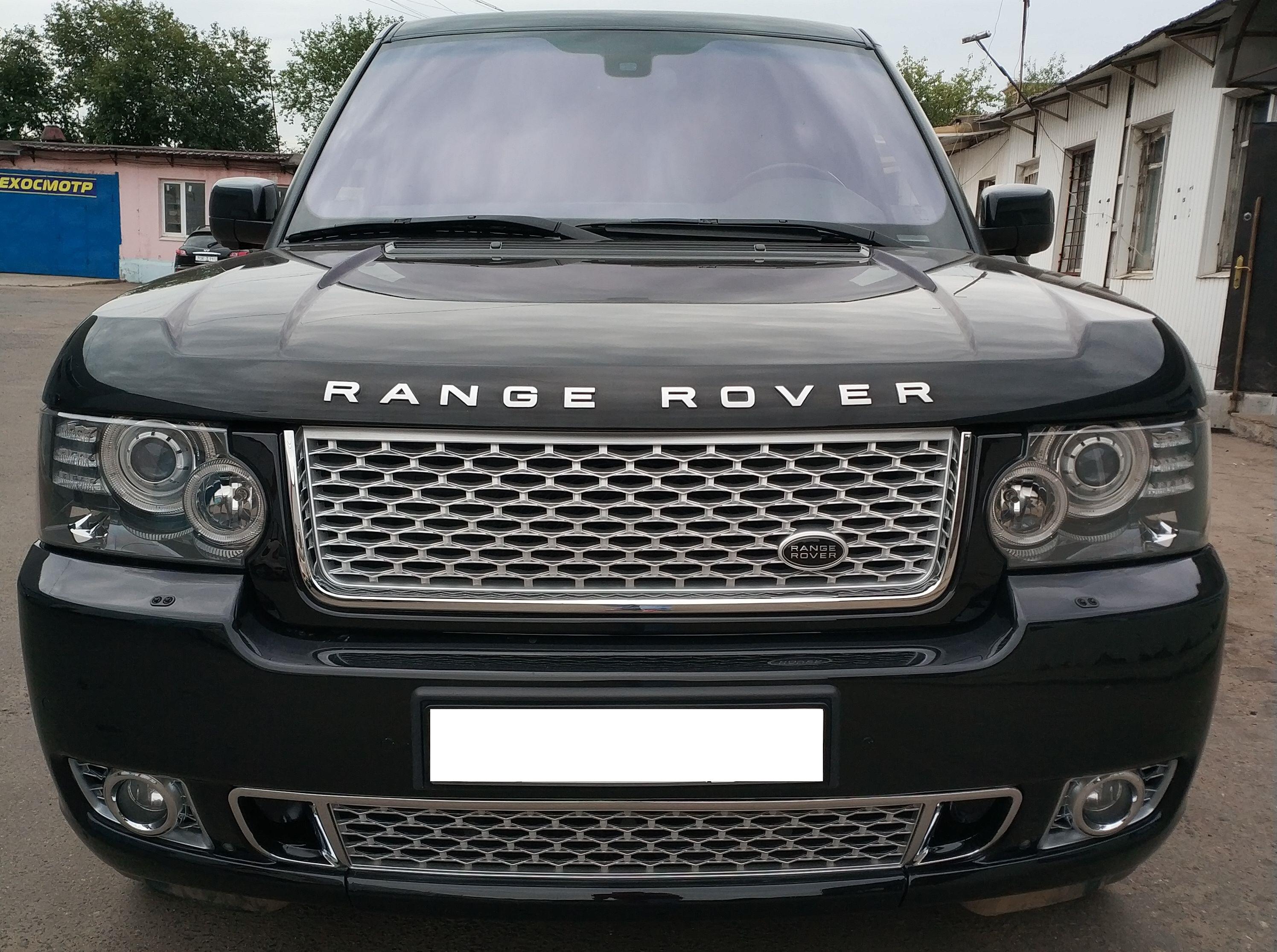 Бампер передний Range Rover Vogue 2010-2012 Autobiography