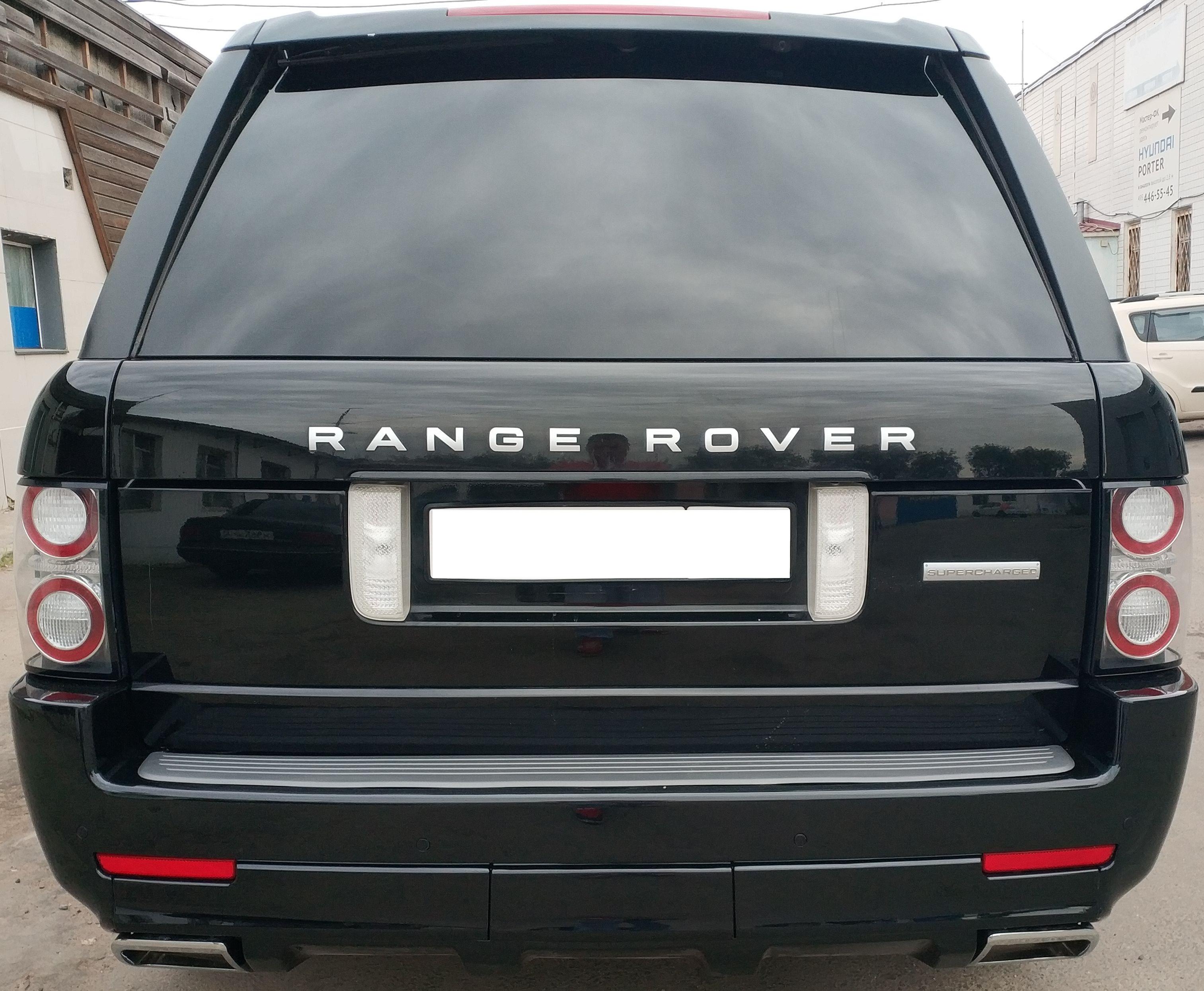 Насадки на выхлоп Range Rover Vogue Autobiography 2010-2013