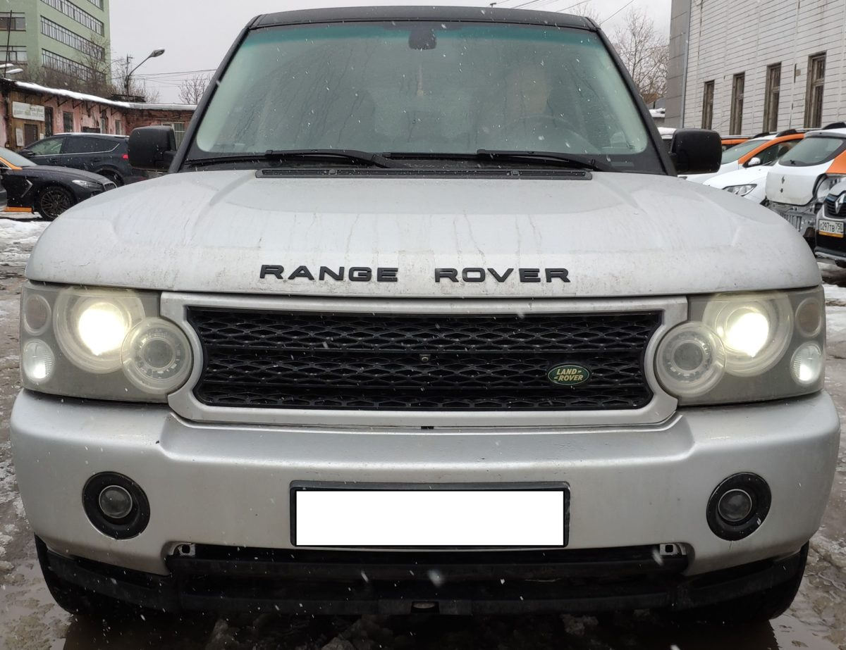 Рестайлинг Range Rover Vogue 2006 - 2009 в Range Rover Vogue 2012 Autobiography