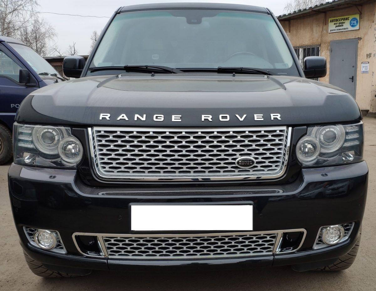 Рестайлинг Range Rover Vogue Autobiography 2012