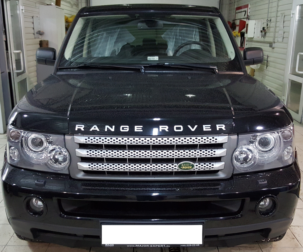 Комплект рестайлинга  Range Rover Sport 2005 — 2009 в Range Rover Sport 2012 Autobiography