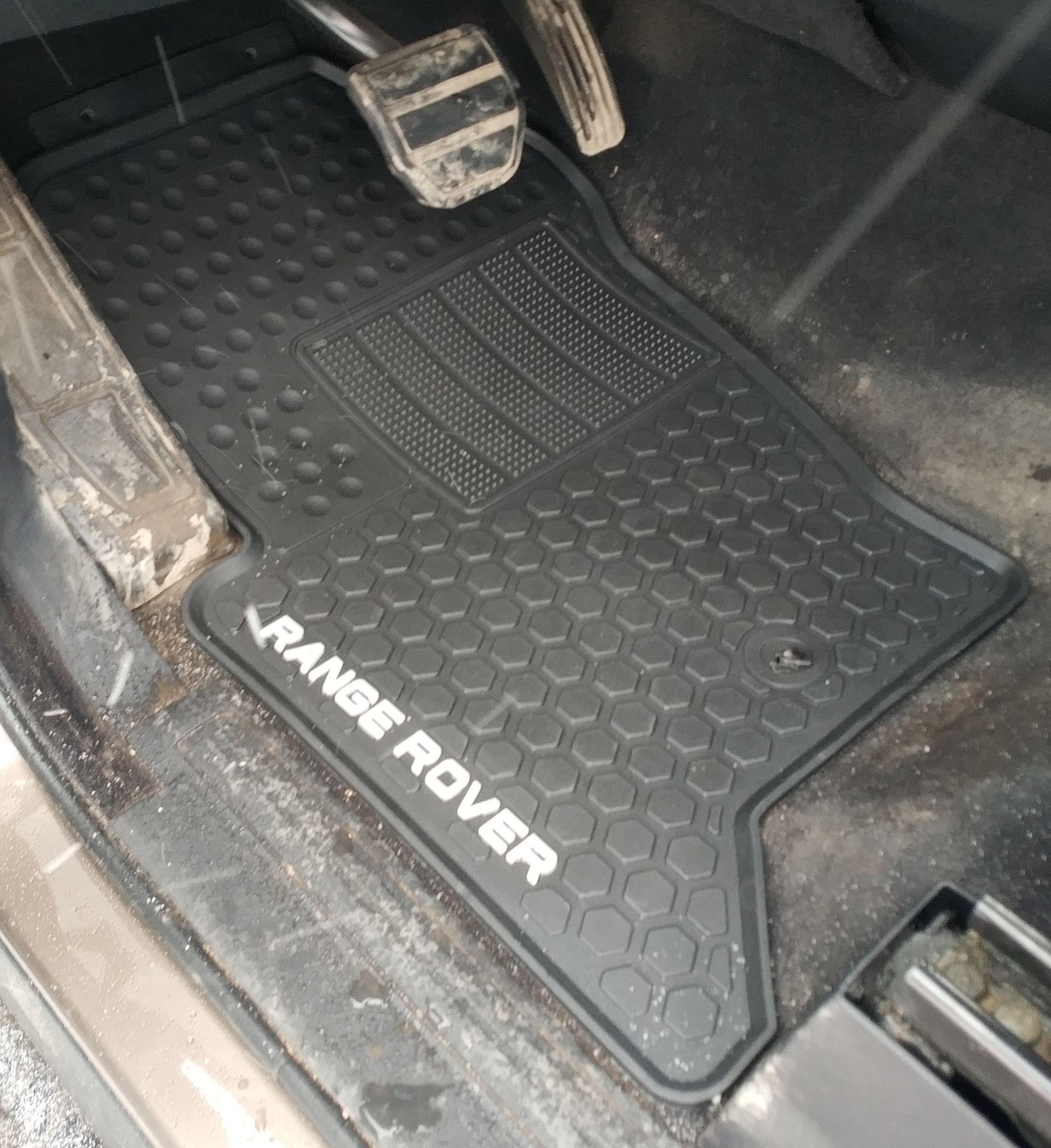 Коврики салона резиновые Range Rover Sport 2005-2013