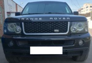 Рестайлинг Range Rover Sport 2008 в Range Rover Sport Autobiography 2012