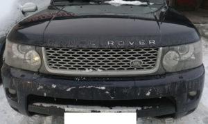 Замена стекол фар Range Rover Sport 2010
