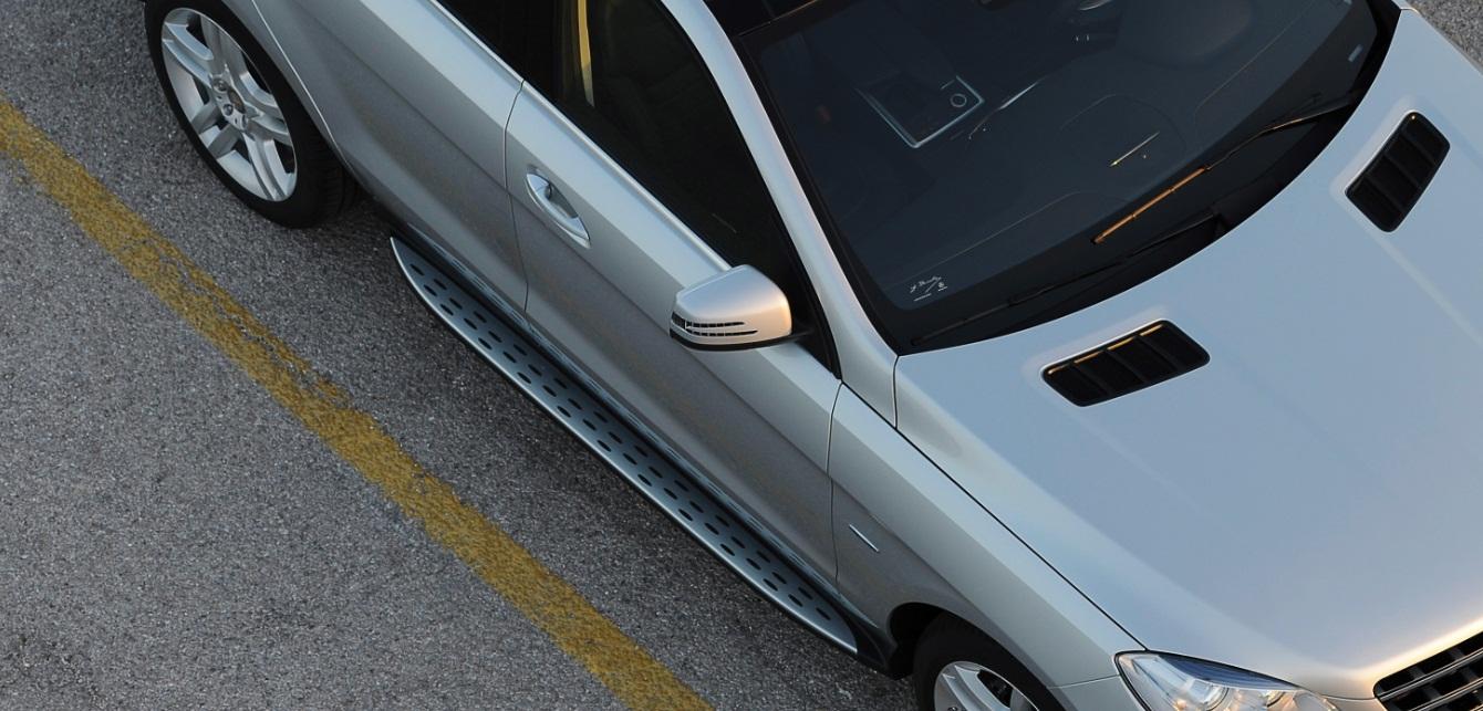 Пороги Mercedes Benz ML 166