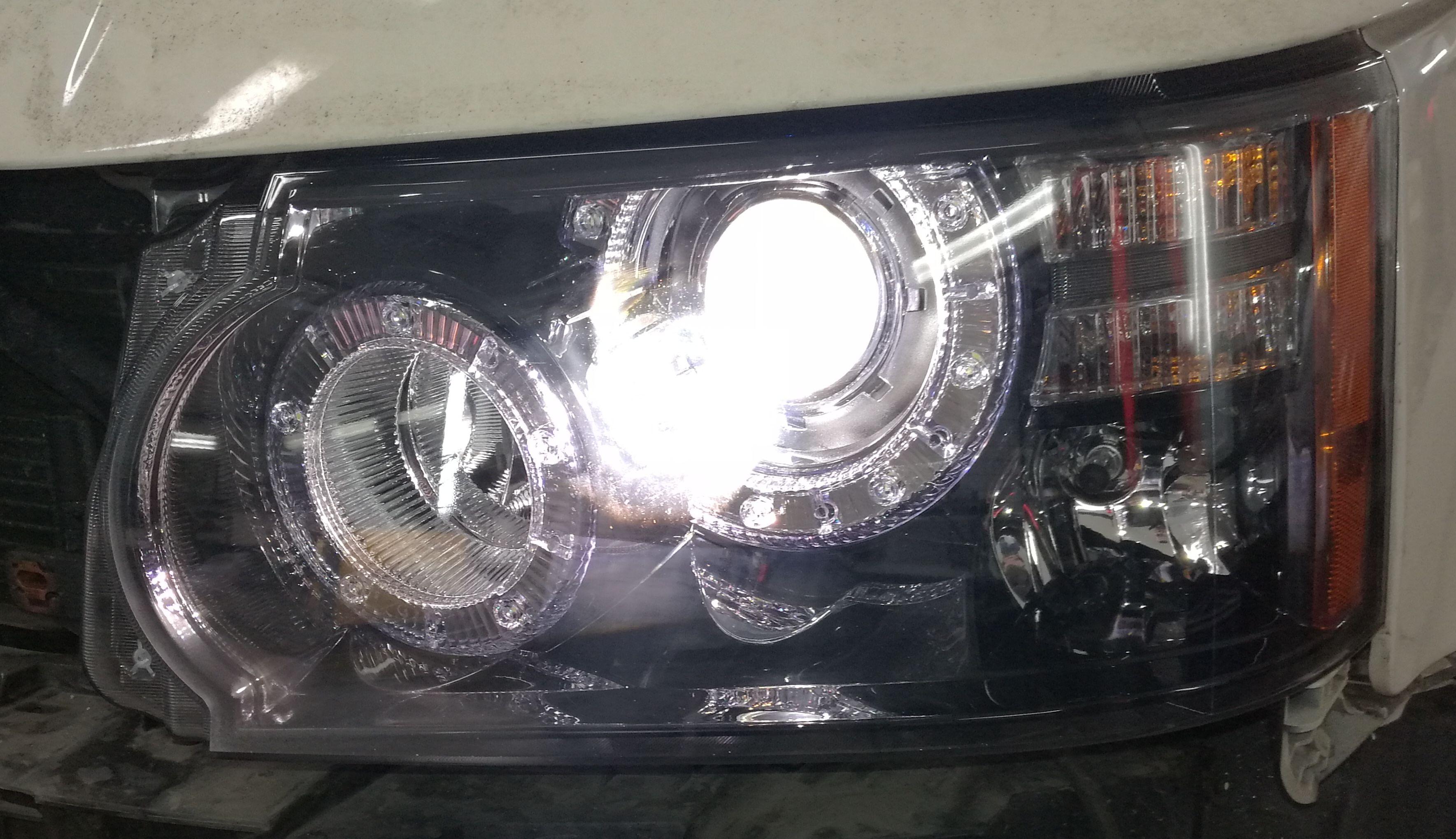 Фары головного света Range Rover Sport 2010-2013