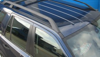 Багажник на крышу  ( рейлинги с поперечиной )  Land Rover Freelаnder 2