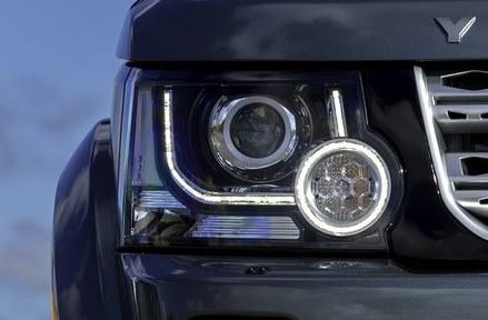 Фары головного света Land Rover Discovery 4  2014+