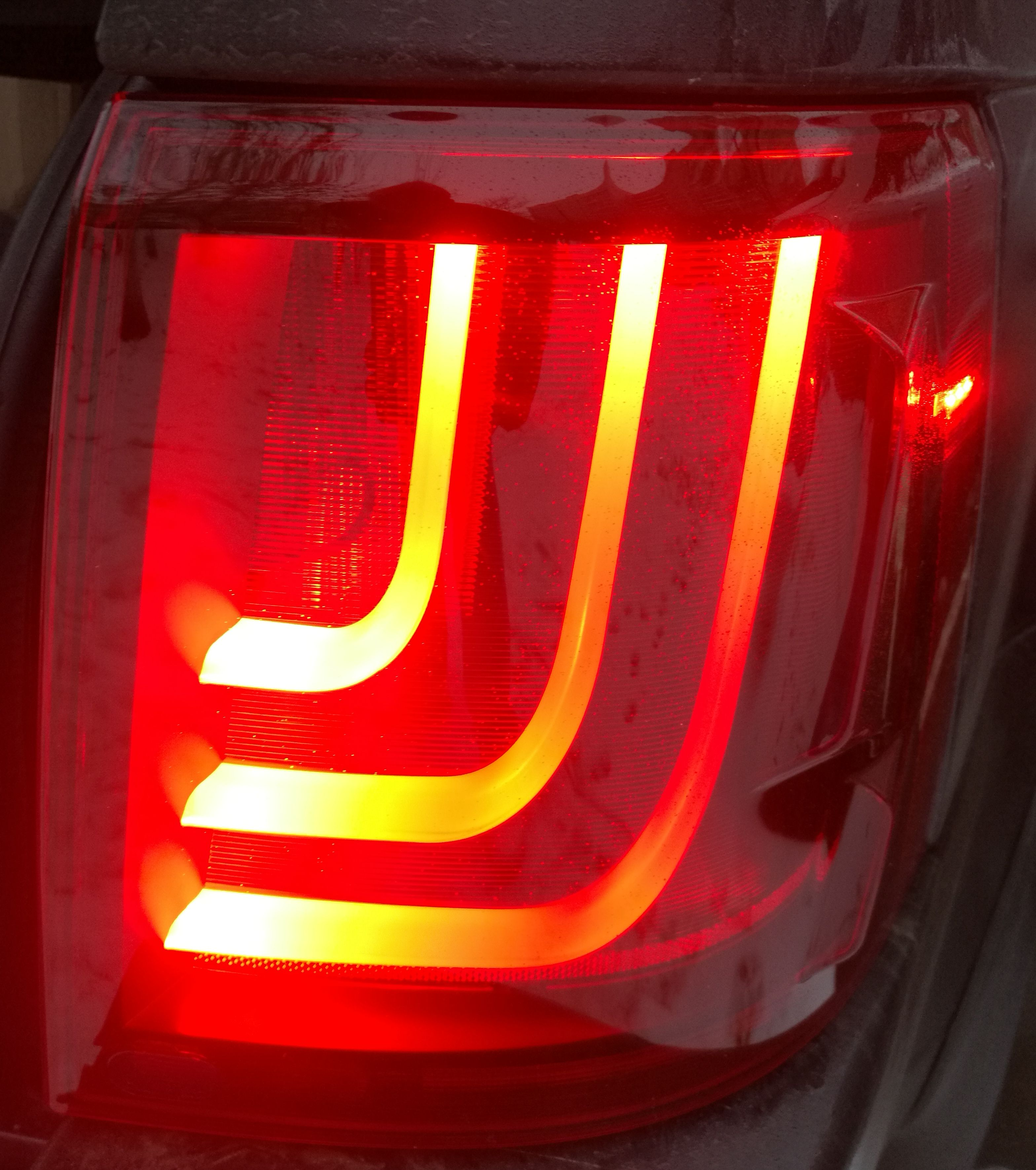 Фонари задние светодиодные тюнинг  Range Rover Sport 2005-2013