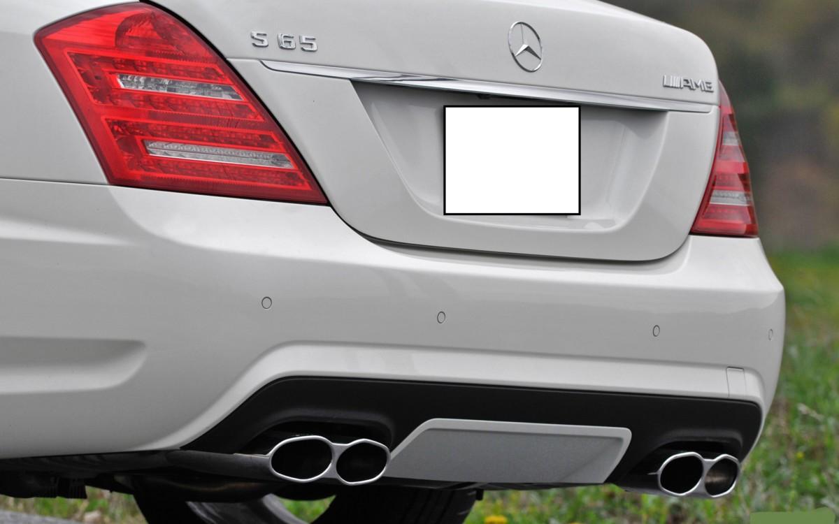 Задний бампер Mercedes s 221 6.5 amg