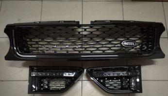 Решетки радиатора и жабры в стиле Autobiography для Range Rover Sport 2010-2013