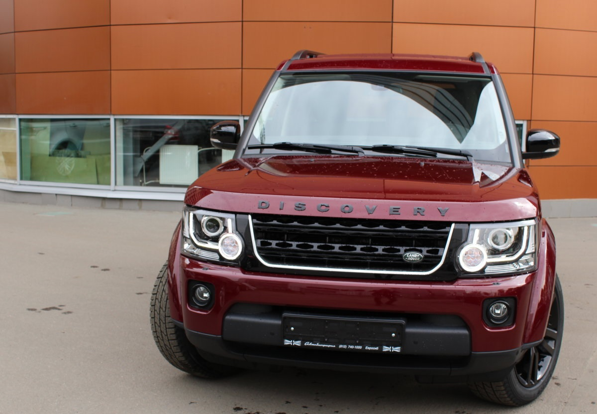 Комплект рестайлинга  Land Rover Discovery 3 — Land Rover Discovery 4 2016-