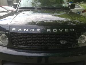 Замена накладок на пороги Range Rover Sport 2005-2013