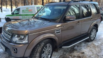 Пороги Land Rover Discovery 3 / 4
