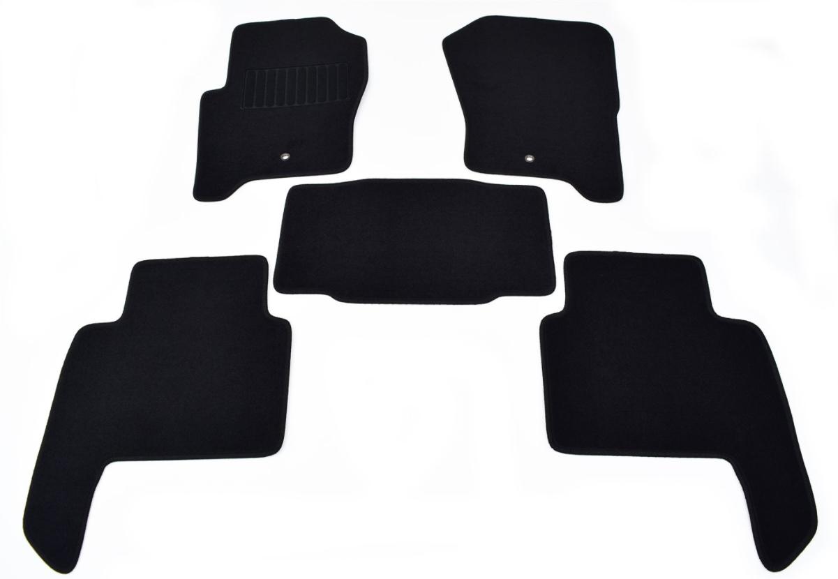 Коврики салона ворс чёрные Range Rover Sport 2005 — 2013