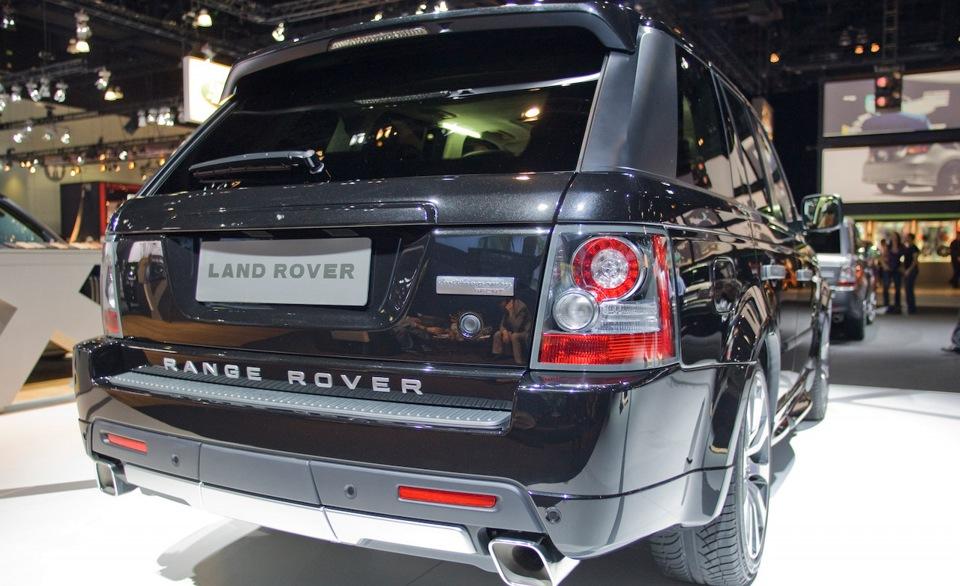 Насадки на  выхлоп Range Rover Sport 2010-2013  Autobiography