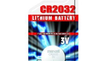 Батарейка в ключ CR2032