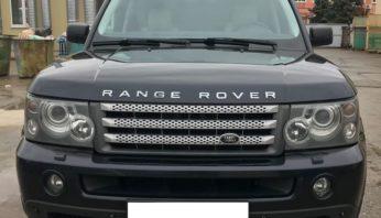 Рестайлинг Range Rover Sport 2005-2009 перед