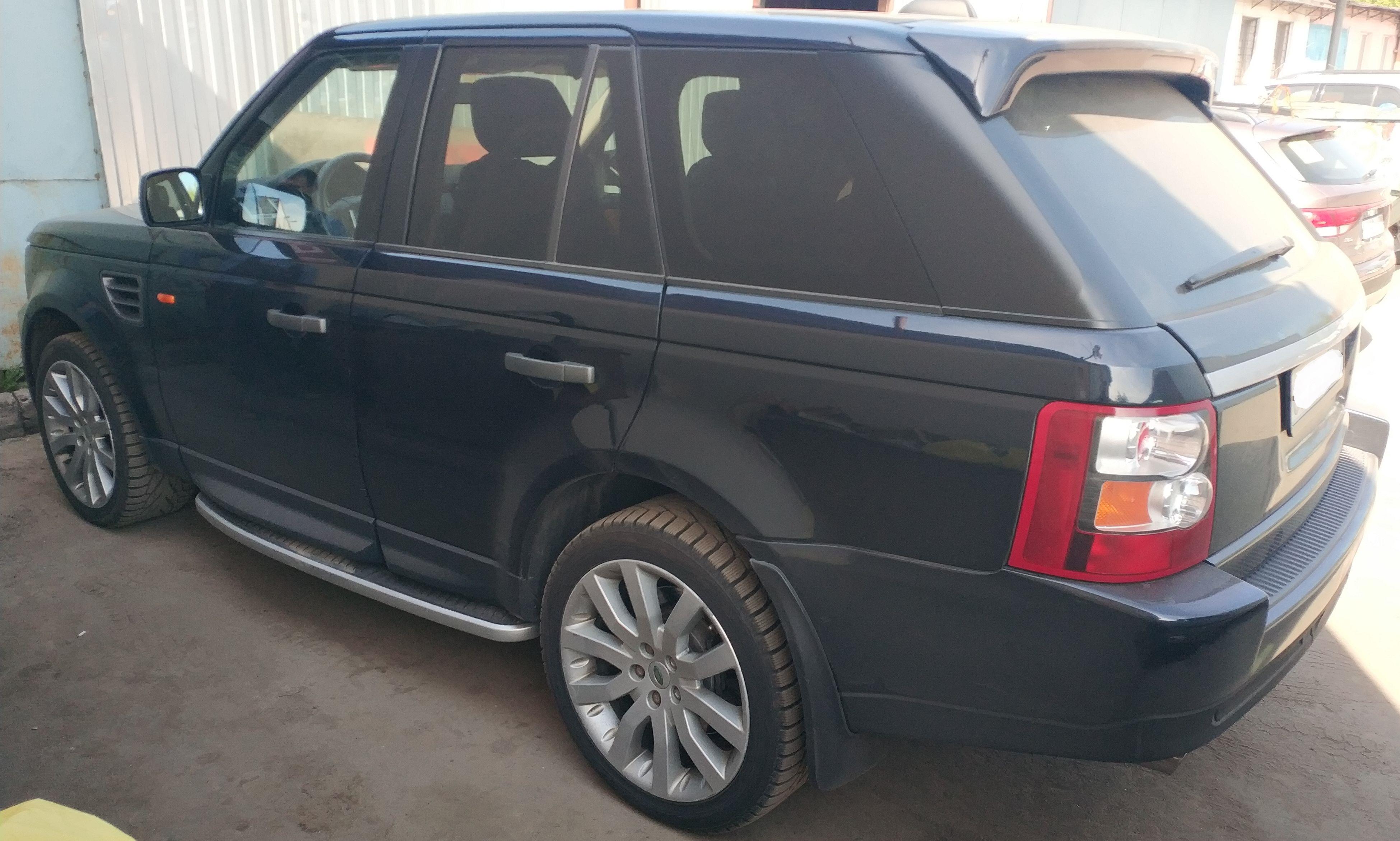 Рестайлинг Range Rover Sport 2005-2009 зад