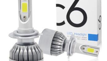 Лампочки светодиодные  LED H11 в противотуманные фары