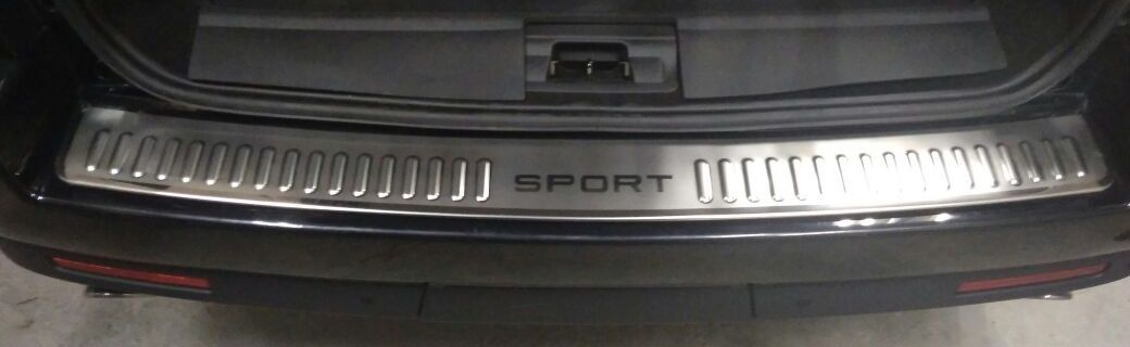 Накладка заднего бампера Range Rover Sport Ренж Ровер Спорт 2005- 2013