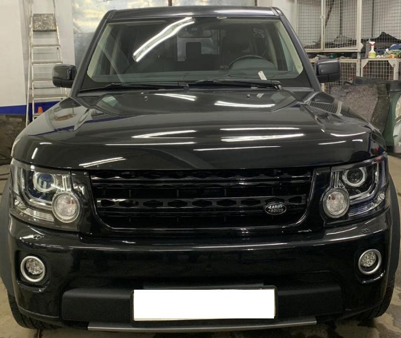 Рестайлинг перед Land Rover Discovery 4 + 2014