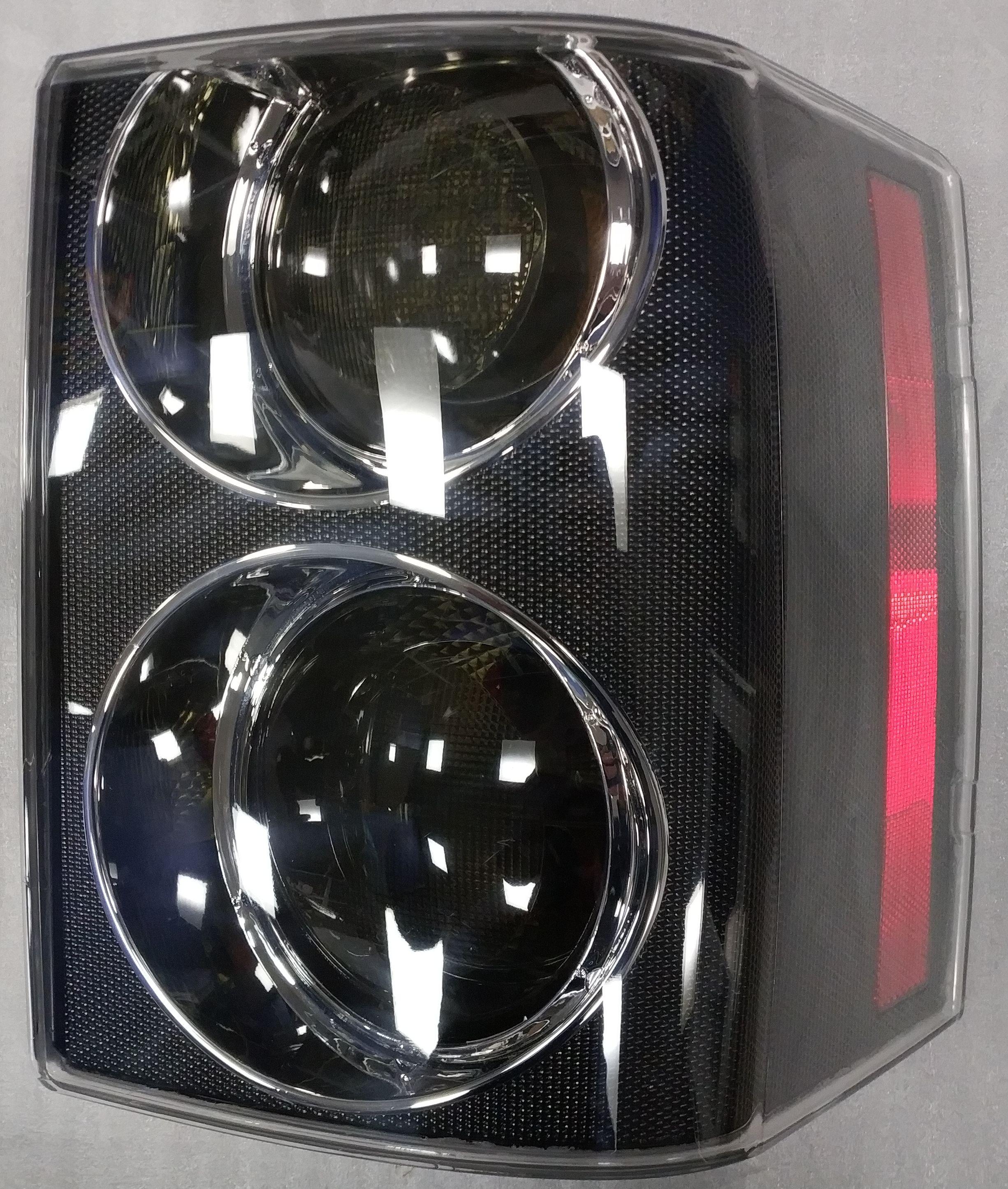 Задние фонари тюнинг Range Rover Vogue 2002-2009 CARBON