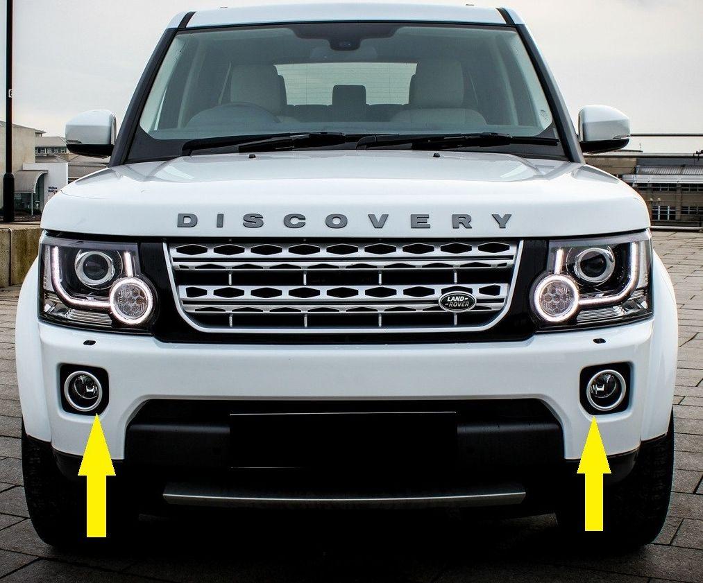 Бампер передний Land Rover Discovery 4+ ( 2014 -)