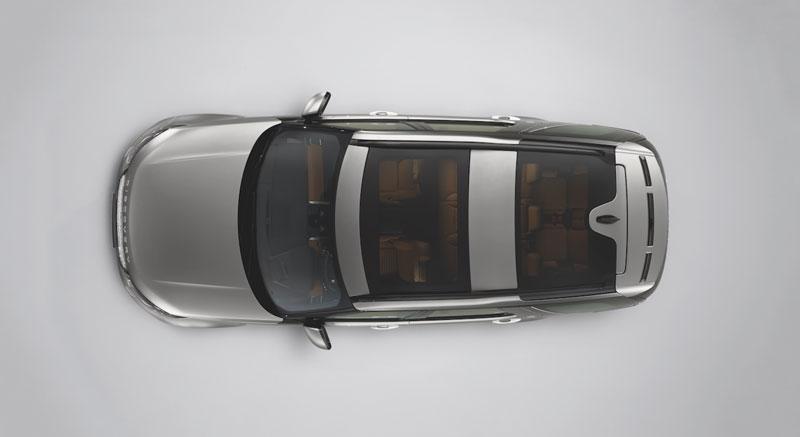 Багажник на крышу  ( рейлинги )  Land Rover Discovery 5