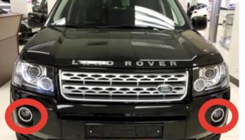 Окантовки птф Land Rover Freelander 2