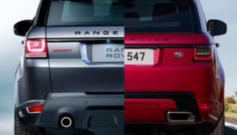 Задние фонари LED Range Rover Sport L494 2018