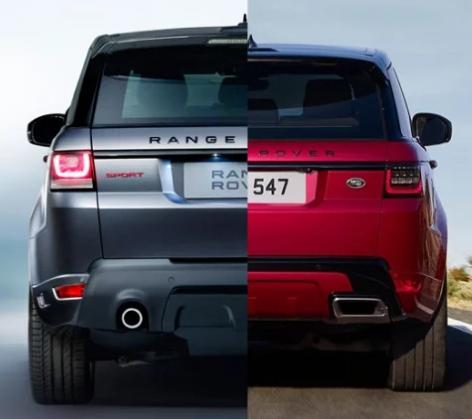 Задние фонари LED Range Rover Sport L494 2018 —