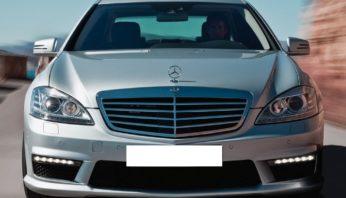 Стекло фары Mercedes s 221