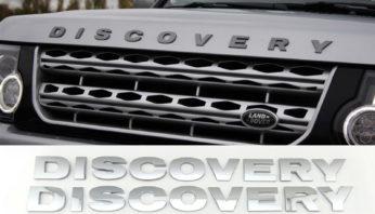Надпись на капот Discovery