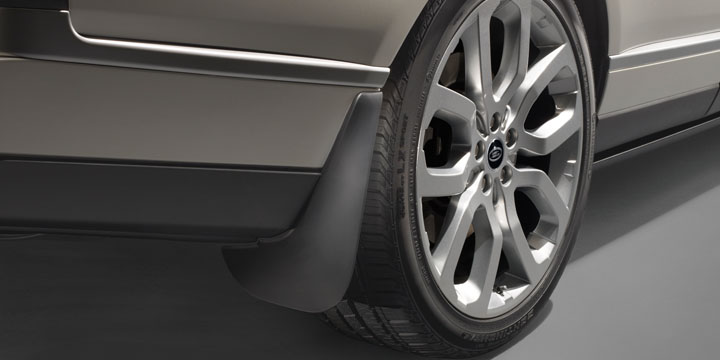 Брызговики  Range Rover Vogue 2013 — L405  ( с электропорогами ) .