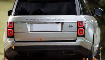Насадки на выхлоп Range Rover Vogue 2018 —