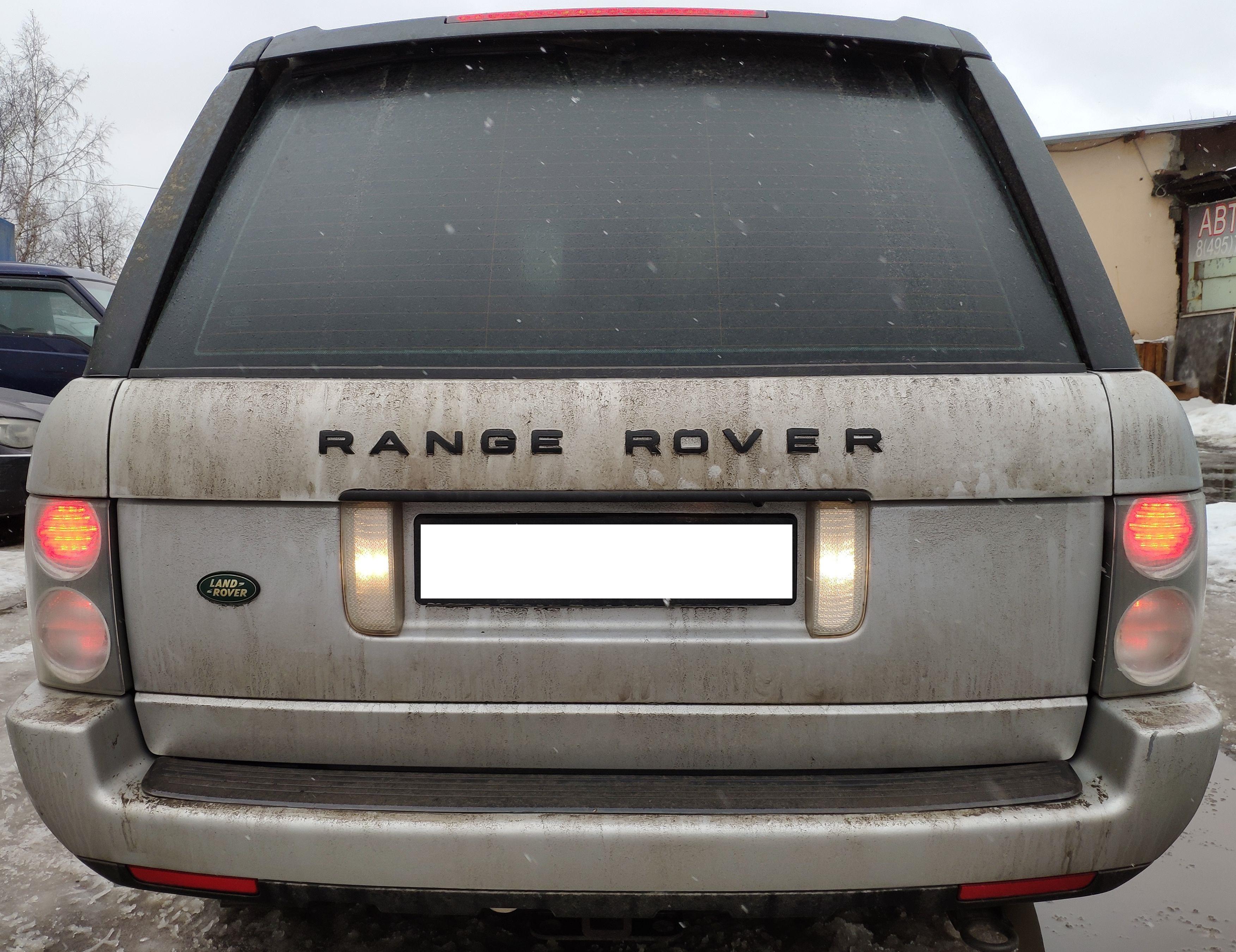 Стекло на задние фонари  Range Rover Vogue 2002-2009