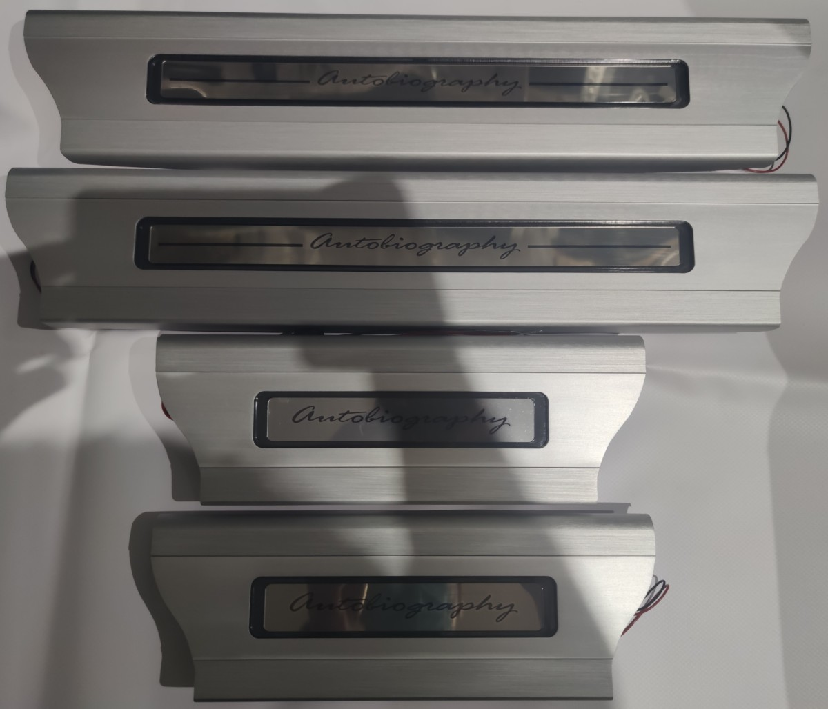 Накладки на пороги салон  Range Rover Vogue 2013 -L405
